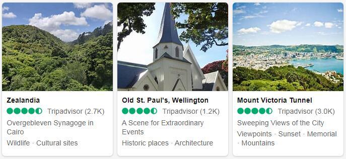 New Zealand Wellington Tourist Attractions 2