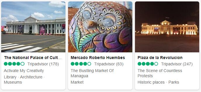 Nicaragua Managua Tourist Attractions 2