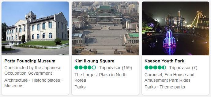 North Korea Pyongyang Tourist Attractions 2