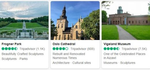 Norway Oslo Tourist Attractions 2