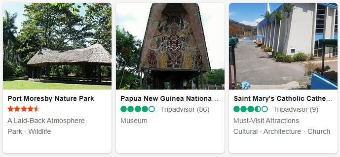 Papua New Guinea Port Moresby Tourist Attractions 2