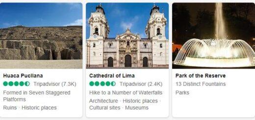 Peru Lima Tourist Attractions 2