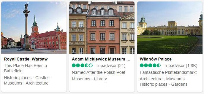 Poland Warsaw Tourist Attractions 2