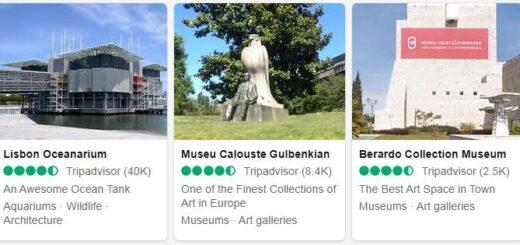 Portugal Lisbon Tourist Attractions 2