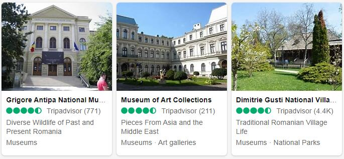Romania Bucharest Tourist Attractions 2
