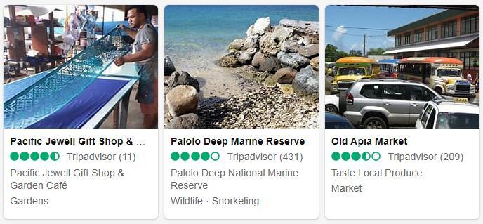 Samoa Apia Tourist Attractions 2