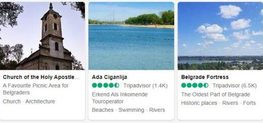 Serbia Belgrade Tourist Attractions 2