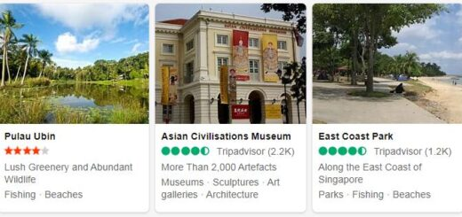 Singapore Tourist Attractions 2