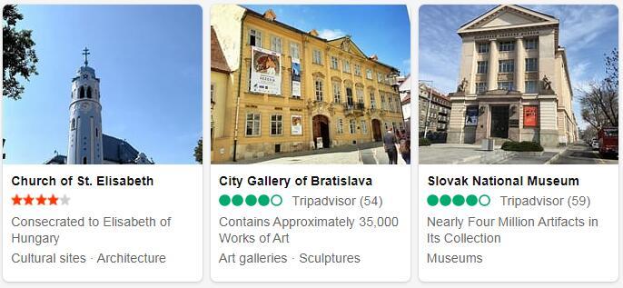Slovakia Bratislava Tourist Attractions 2