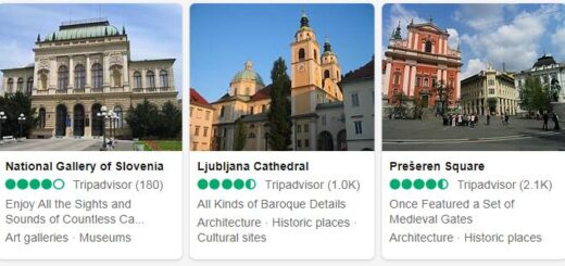 Slovenia Ljubljana Tourist Attractions 2