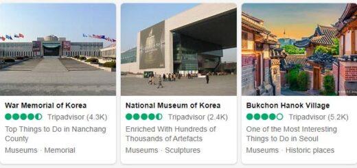 South Korea Seoul Tourist Attractions 2