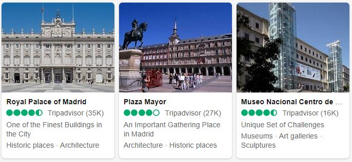 Spain Madrid Tourist Attractions 2