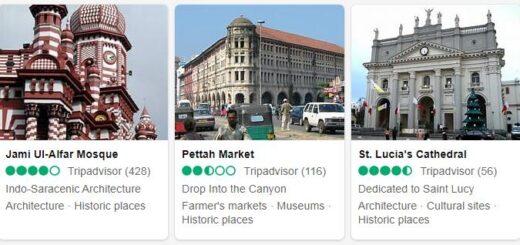 Sri Lanka Colombo Tourist Attractions 2