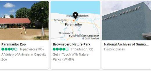Suriname Paramaribo Tourist Attractions 2