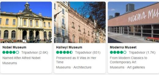 Sweden Stockholm Tourist Attractions 2