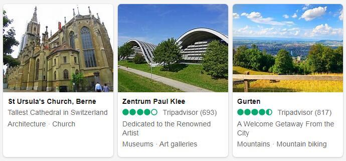 Switzerland Bern Tourist Attractions 2