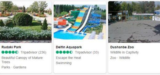 Tajikistan Dushanbe Tourist Attractions 2