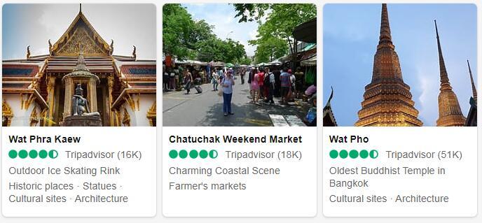 Thailand Bangkok Tourist Attractions 2