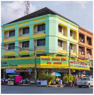 The city of Krabi is a small city with excellent services