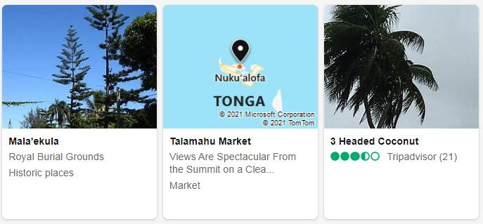 Tonga Nuku'alofa Tourist Attractions 2