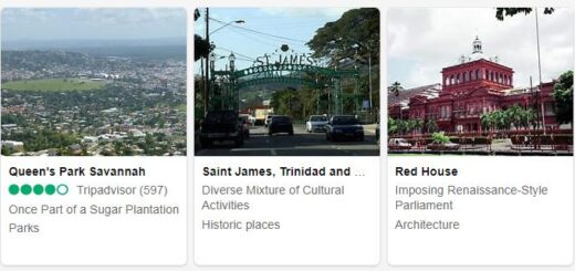 Trinidad and Tobago Port of Spain Tourist Attractions 2