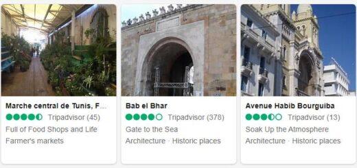 Tunisia Tunis Tourist Attractions 2
