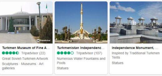 Turkmenistan Ashgabat Tourist Attractions 2