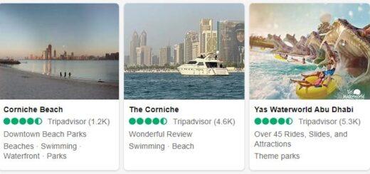 United Arab Emirates Abu Dhabi Tourist Attractions 2