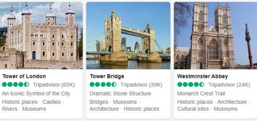 United Kingdom London Tourist Attractions 2
