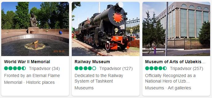 Uzbekistan Tashkent Tourist Attractions 2