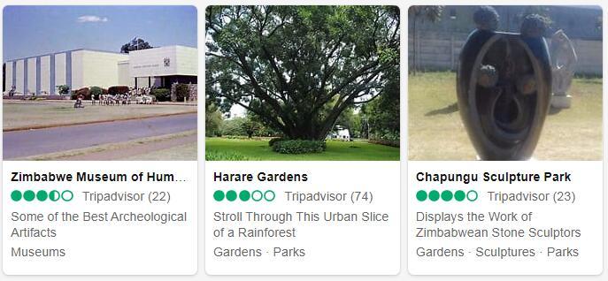 Zimbabwe Harare Tourist Attractions 2