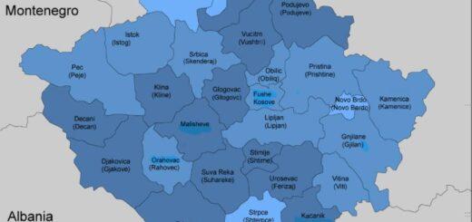 Kosovo Municipal structure