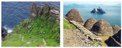 Skellig Michael Rock Island (World Heritage)